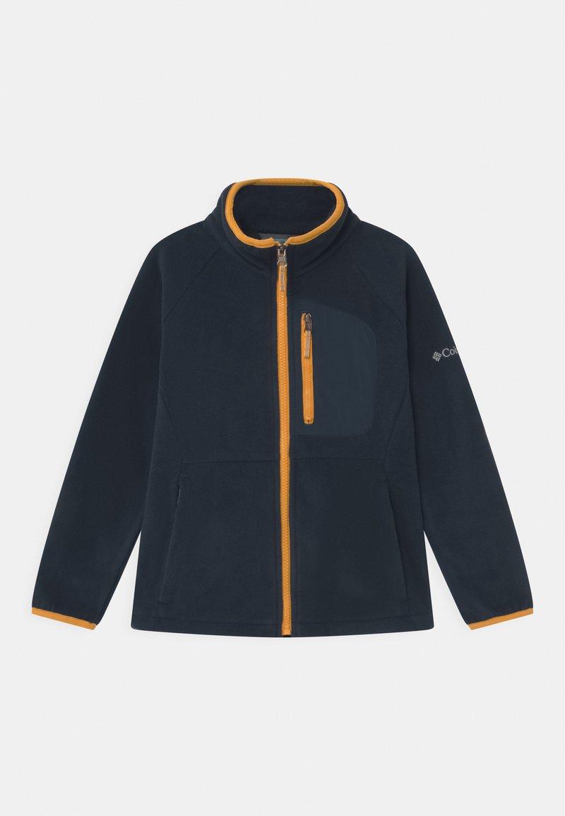 Columbia - FAST TREK FULL ZIP UNISEX - Fleece jacket - collegiate navy/bright gold