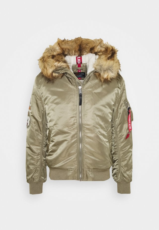 HOODED ARCTIC - Giacca invernale - stratos