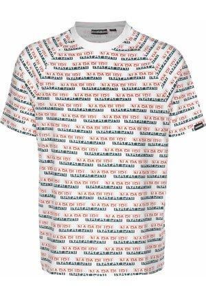 T-SHIRT SIRE AOP - T-shirt imprimé - white fant