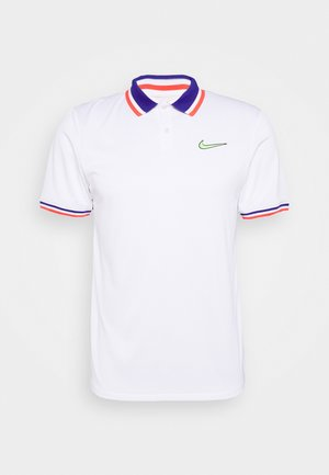 SLAM - Sports shirt - white/ghost green