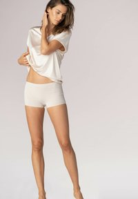 mey - SHORTS SERIE NATURAL SECOND ME - Pants - new pearl - 1