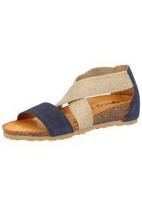 IGI&CO - Wedge sandals - blue