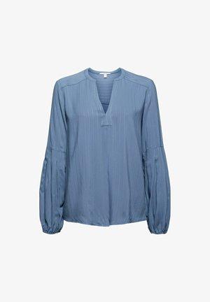 Blouse - grey blue