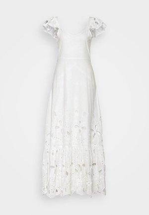 GEORGINA STRAP ANKLE DRESS - Společenské šaty - star white