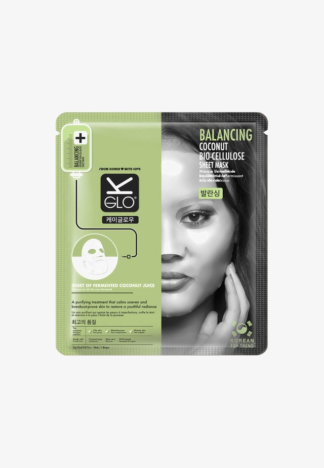 BALANCING BIO-CELLULOSE SHEET MASK 25ML - Face mask - neutral