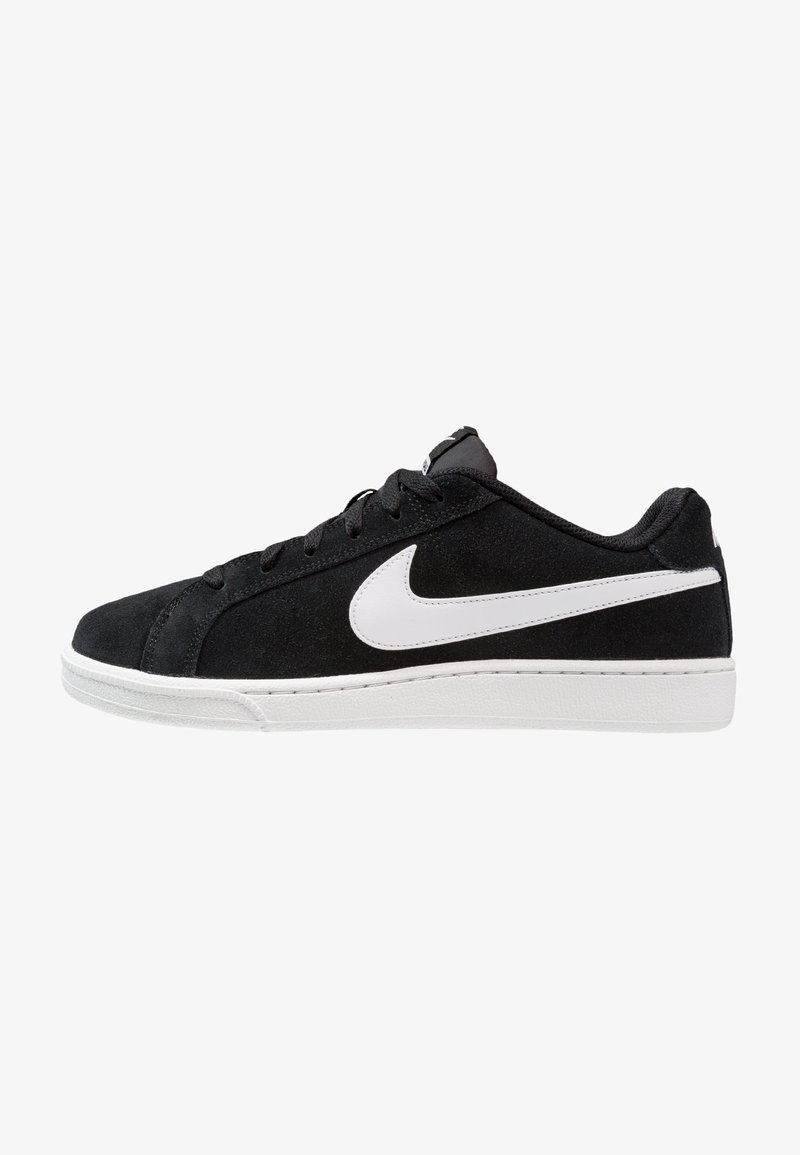Nike Sportswear - COURT ROYALE SUEDE - Trainers - black/white