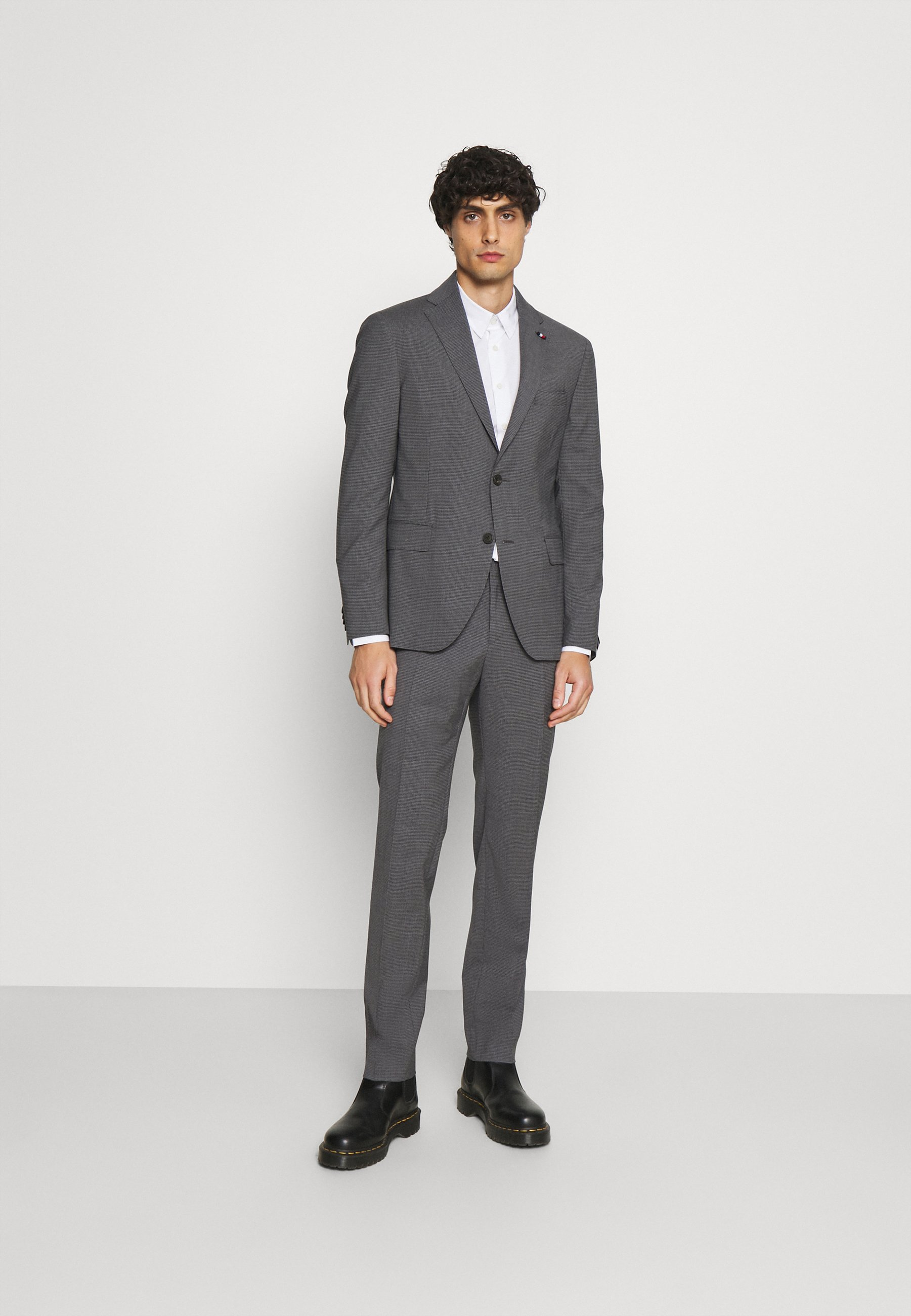 Homme FLAP FULLY LINED VENTS FLAT FRONT TROUSER SET - Costume
