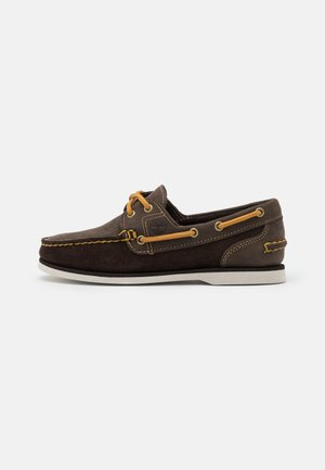 CLASSIC - Boat shoes - dark brown