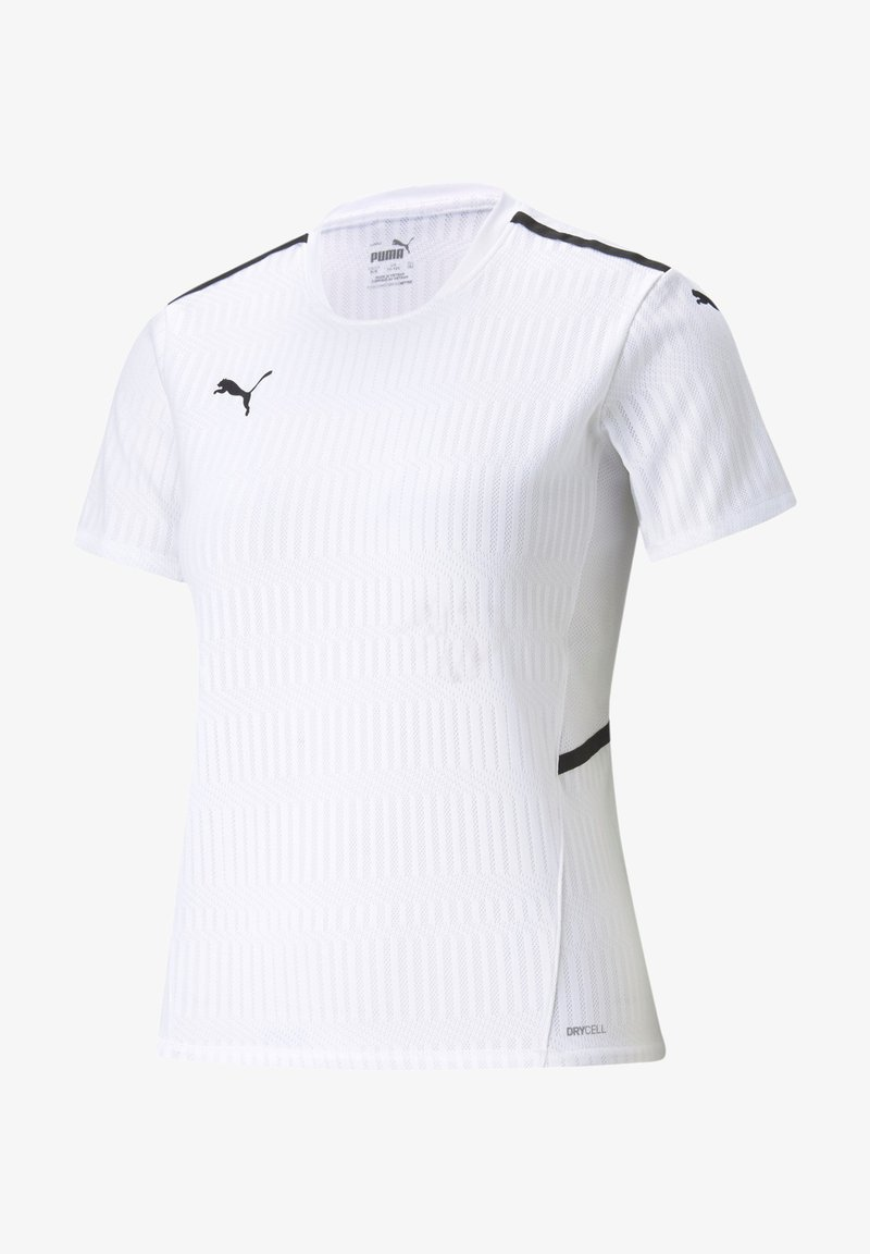 Puma - FUSSBALL - TEAMSPORT TEXTIL - TEAMCUP - Print T-shirt - white