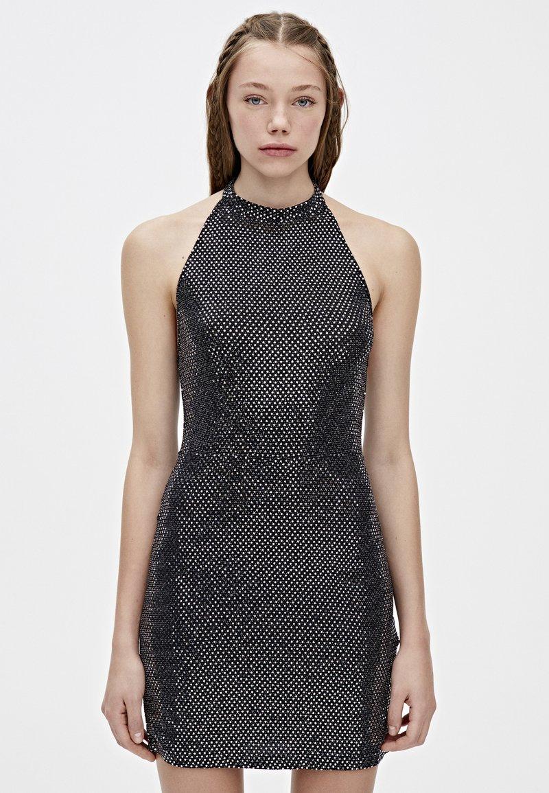 PULL&BEAR - Sukienka koktajlowa - black