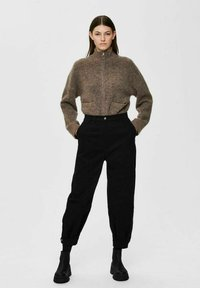Selected Femme - Trousers - black - 1