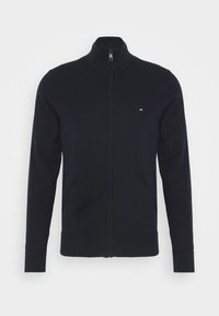 Tommy Hilfiger - ZIP THROUGH - Cardigan - blue - 4
