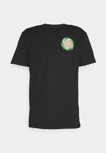 NO BALLS NO GLORY UNISEX - Print T-shirt - black
