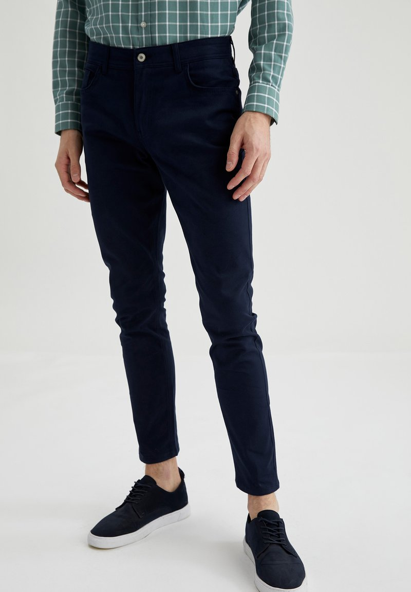 DeFacto - Slim fit jeans - navy