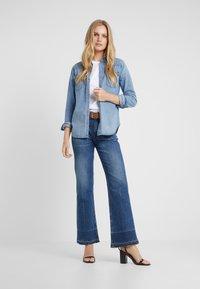 Polo Ralph Lauren - KATHERINE WASH - Skjorte - medium indigo - 1