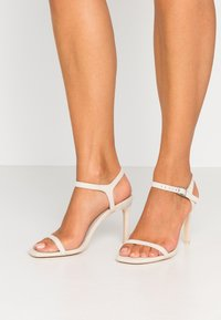 Nly by Nelly - SQUARE  - High heeled sandals - beige - 0