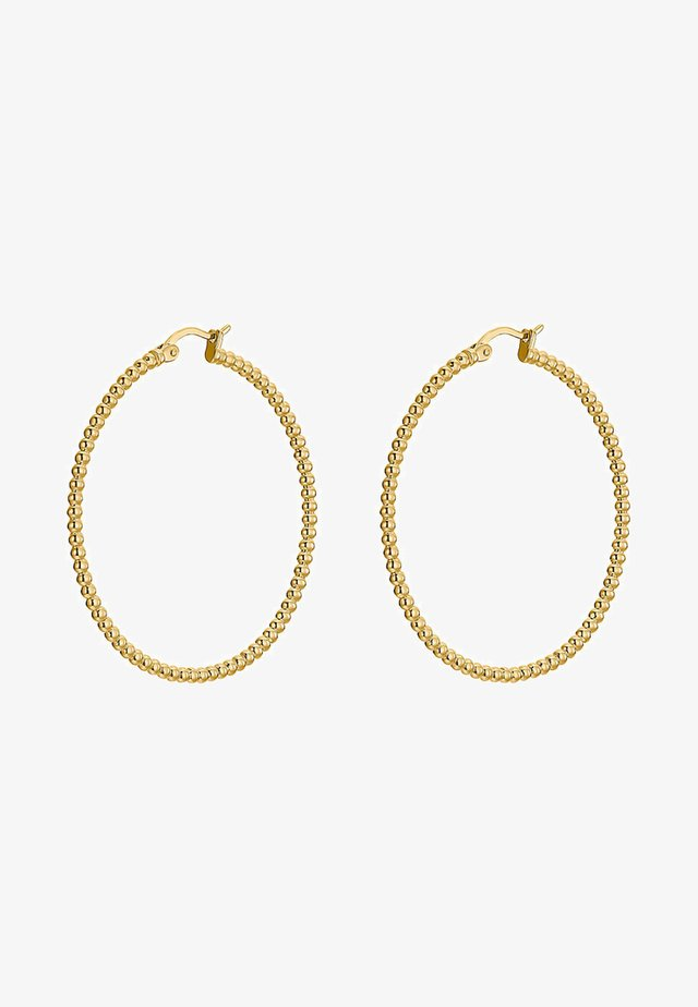 Earrings - yellow