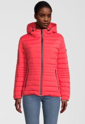 MIT THERMOLITE - Winter jacket - cherry red