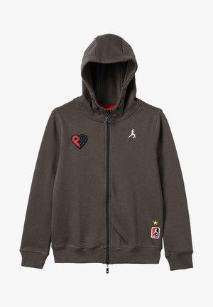 COYOTE - Zip-up hoodie - khaki