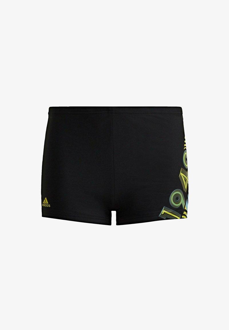 adidas Performance - BOLD SWIM BRIEFS - Swimming trunks - black