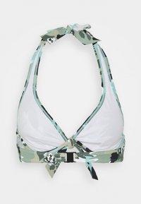 Esprit - HERA BEACH FLEXIWIRE - Bikini top - khaki - 6