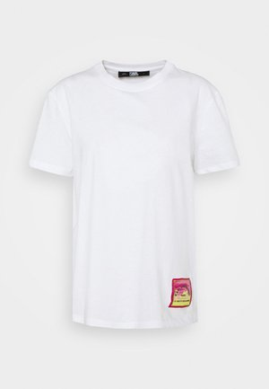 SURF PATCH - T-shirt con stampa - white
