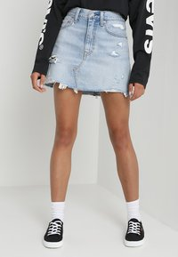 Levi's® - DECONSTRUCTED SKIRT - A-line skirt - whats the damage - 0