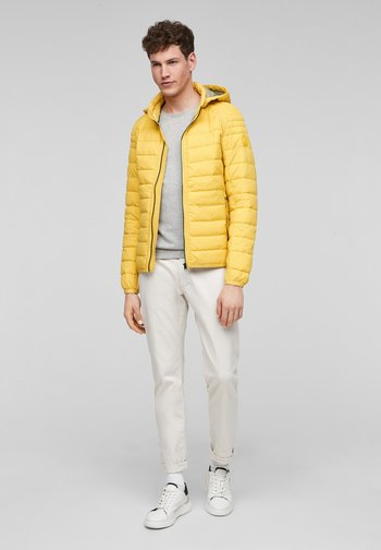 Winterjas - yellow