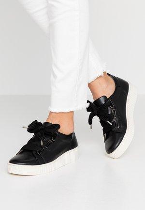 Sneakers - schwarz/beige