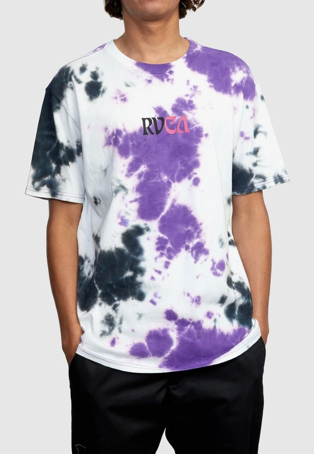 T-shirt print - iris