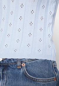 Glamorous - WITH LONG SLEEVES - Pullover - light blue - 5