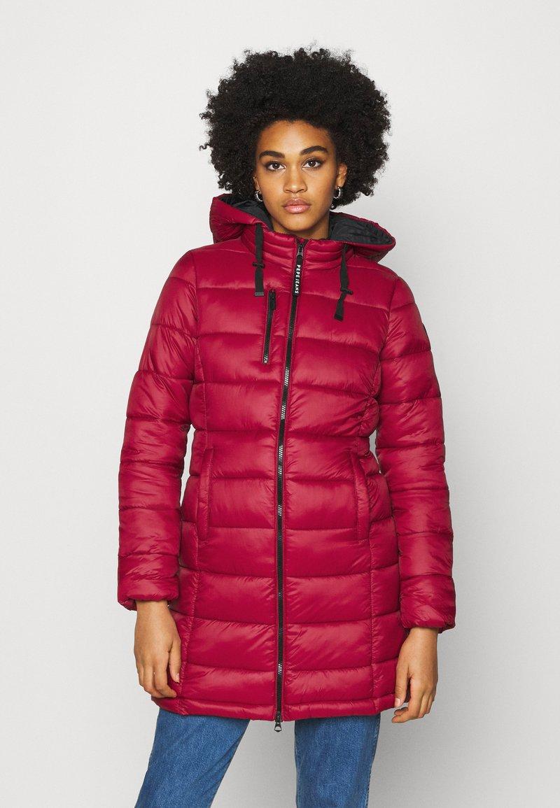 Pepe Jeans - LINNA - Winter coat - currant