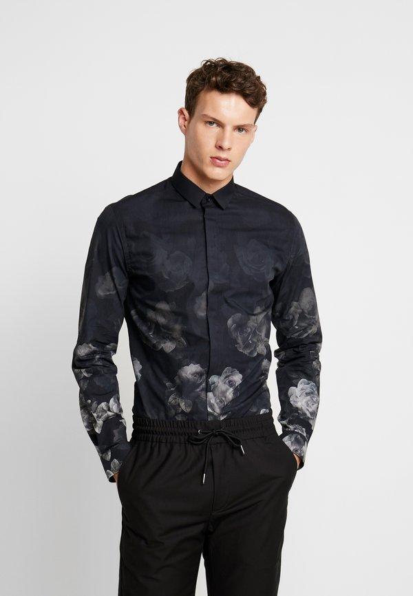 Twisted Tailor KEMBER SHIRT - Koszula - grey/szary Odzież Męska UEGN