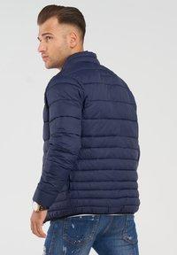 Jack & Jones - MIT STEHKRAGEN - Light jacket - navy blazer - 2