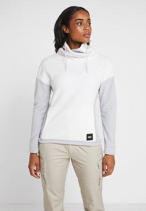 Fleece jumper - powder white