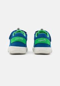 Superfit - SPORT MINI - Boty se suchým zipem - blau/grün - 2