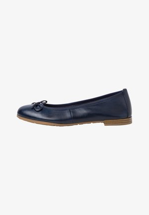 Ballet pumps - navy antic