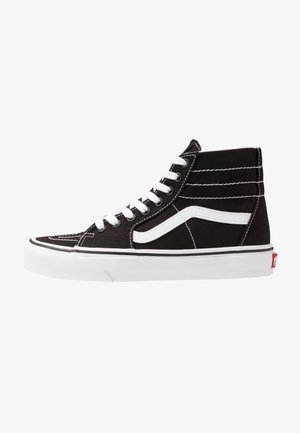 SK8 TAPERED - Sneakersy wysokie - black/true white