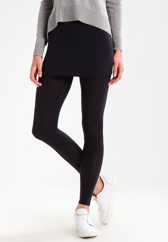RAFFI - Leggings - Trousers - black