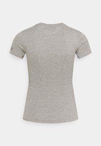 Polo Ralph Lauren - TEE SHORT SLEEVE - T-shirt z nadrukiem - dark vintage heather - 1