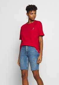 Pier One - Print T-shirt - red - 3