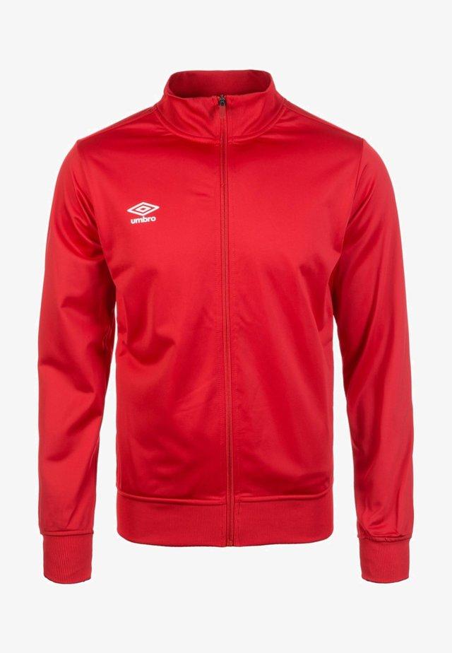 CLUB ESSENTIAL - Training jacket - red