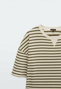 Massimo Dutti - Jersey dress - khaki - 2