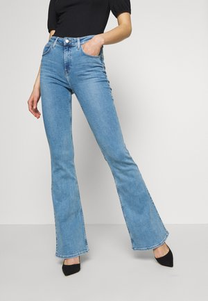 SUPER HIGH FLARE OPTIX - Flared Jeans - brighton rock