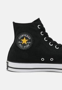 Converse - CONVERSE X BASQUIAT CHUCK TAYLOR UNISEX - Zapatillas altas - black - 4