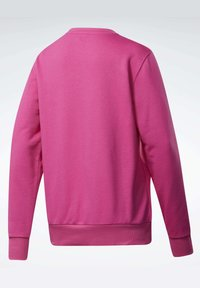 Reebok Classic - CLASSICS LOGO CREW - Sweatshirt - pink - 8