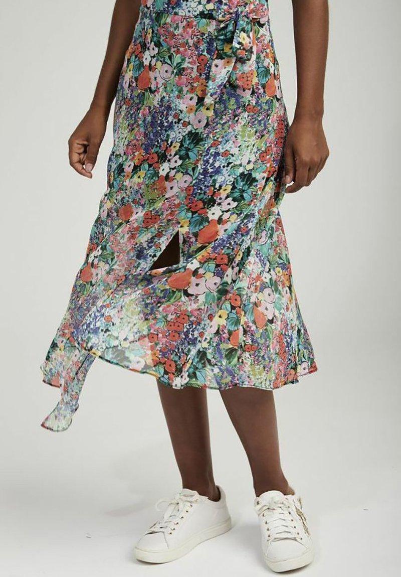 NAF NAF - A-line skirt - multicouleurs