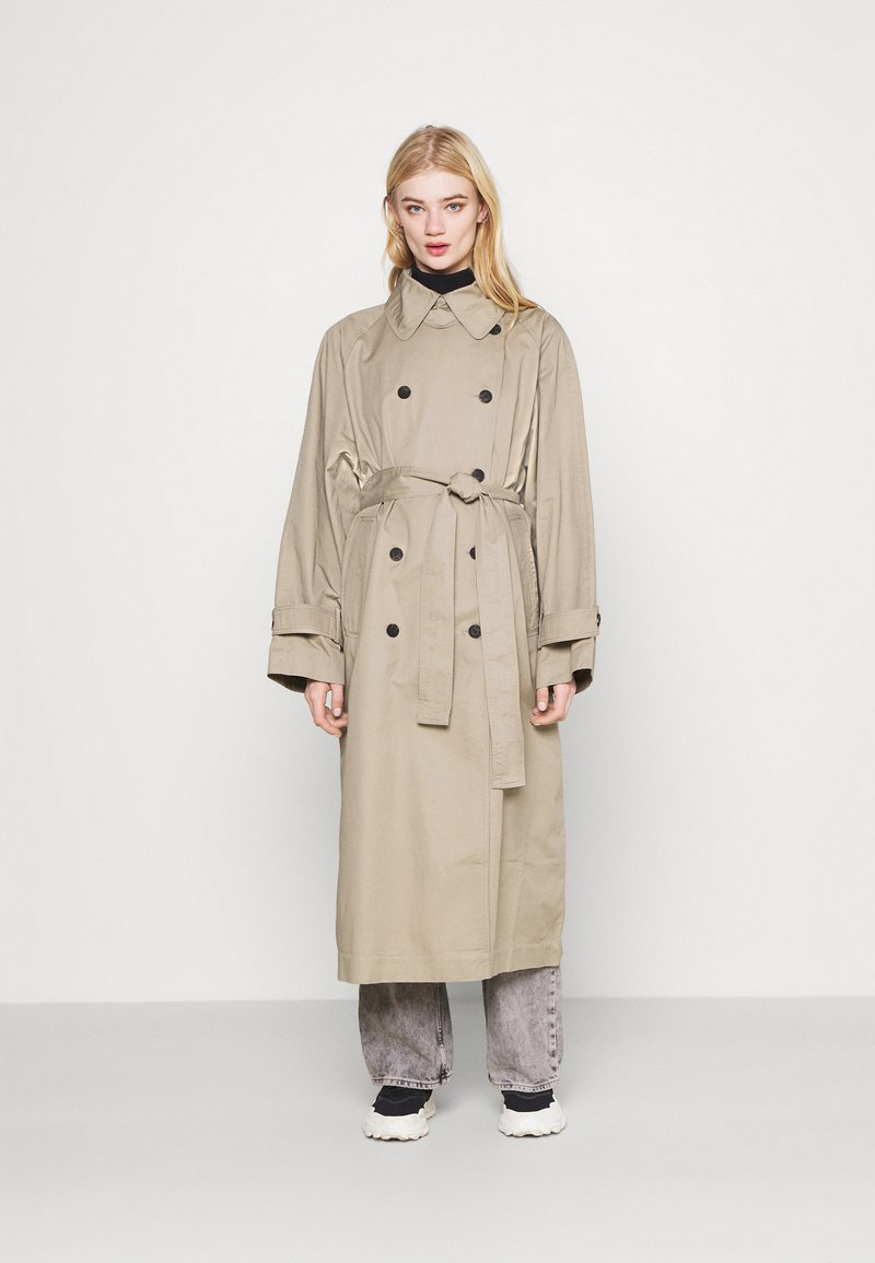 Weekday - TRAVIS  - Trenchcoat - beige