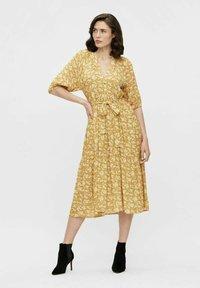 Object - Day dress - honey mustard - 0