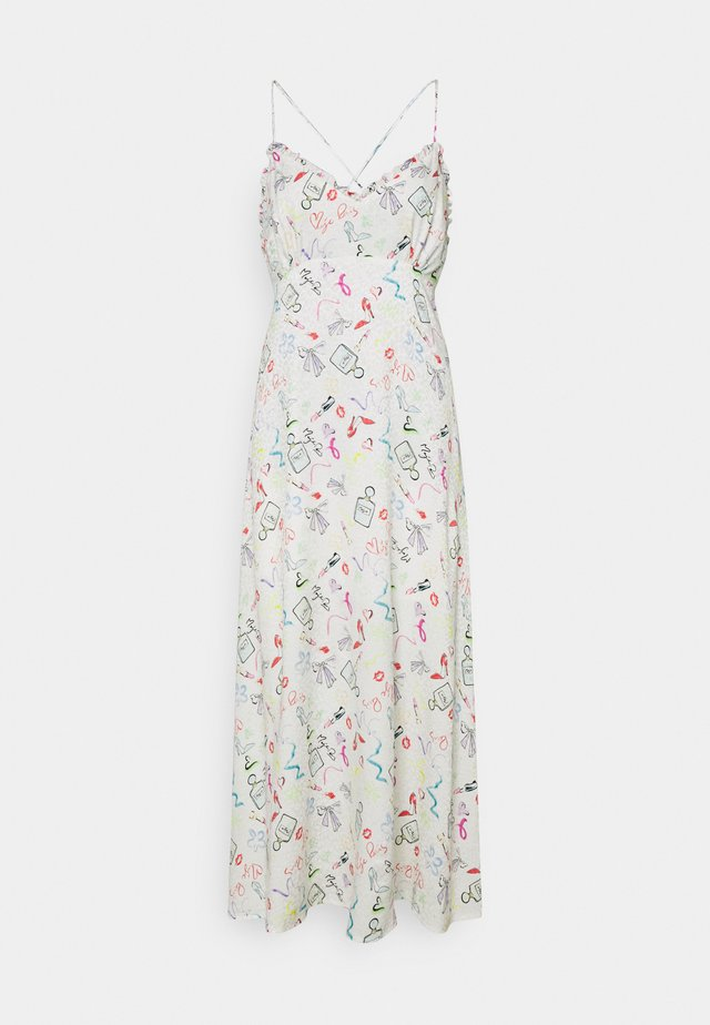 Korte jurk - multicouleur